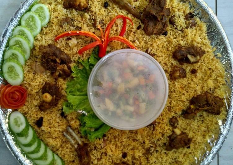 Nasi biryani zaffron