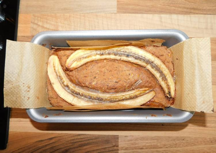 Vegan Banana Bread (oil-free and gluten-free)