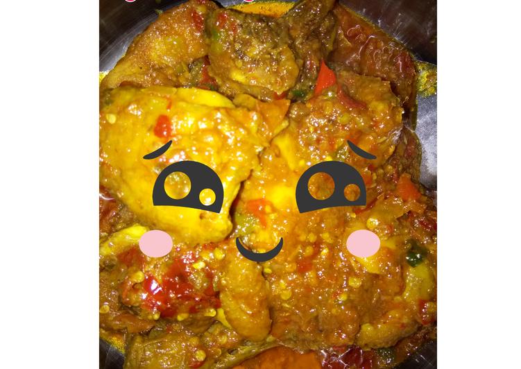 Ayam balado pedas 🌶