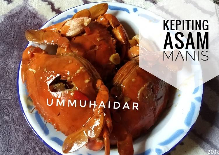 Kepiting asam manis - cookandrecipe.com