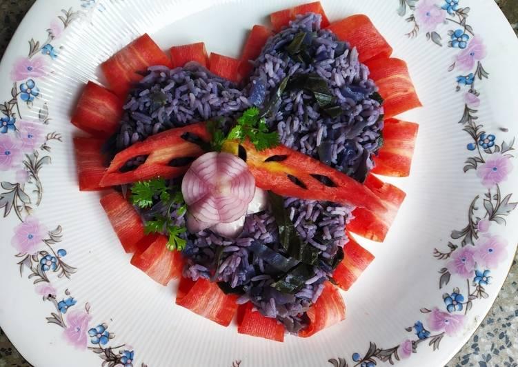 Purple Pulao