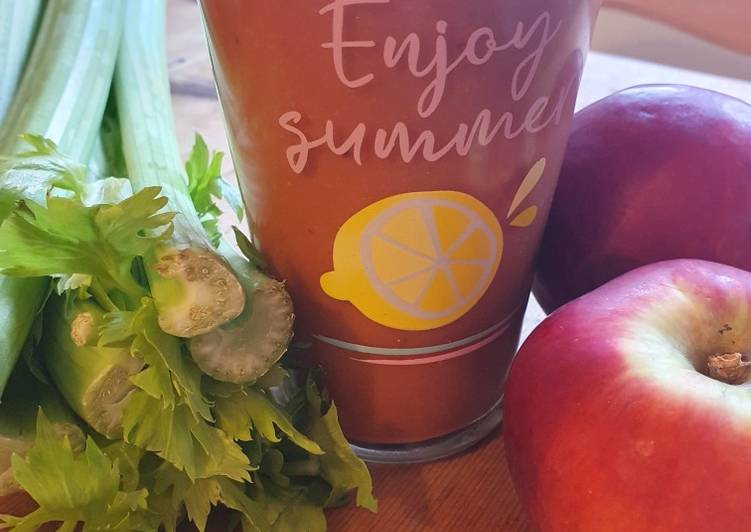 Roter Power Smoothie