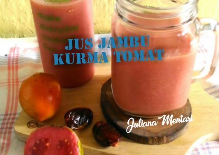 resep jus jambu kurma tomat oleh julia juliana cookpad resep jus jambu kurma tomat oleh julia