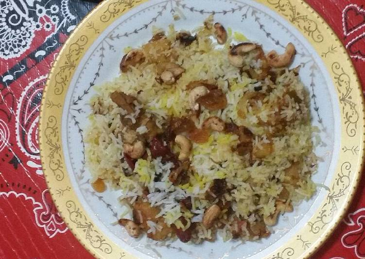 Chicken Briyani Rice -slowcooker