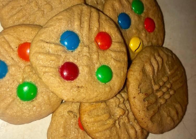 Simple Way to Prepare Ultimate 3 ingredient peanut butter cookies EASY