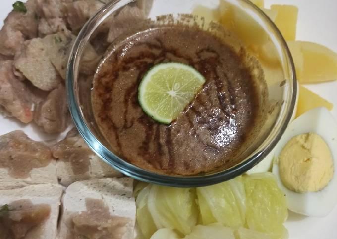 Siomay Udang Plus Sambal Kacang Homemade - projectfootsteps.org