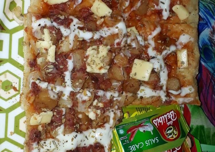 Pizza Lezat Lembut Empuk Simple No Ulen Kalis ANTI GAGAL
