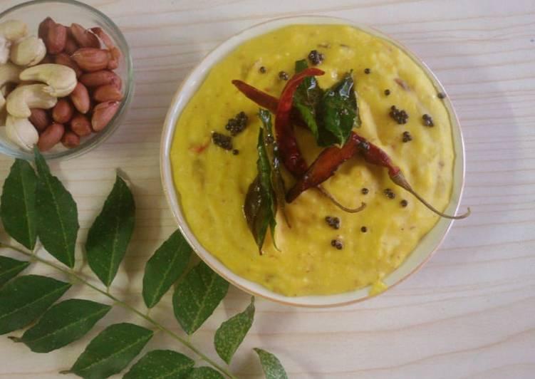 Easy Comfort Dinner Ideas Vegan Peanut besan kadhi