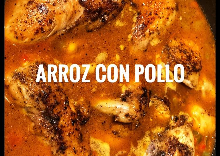 Arroz con pollo (Rice with Chicken) - Laurie G Edwards