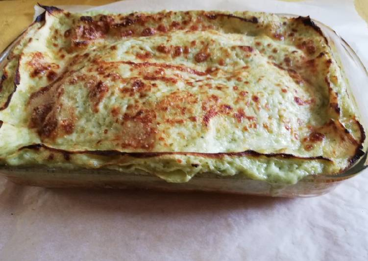 Easiest Way to Prepare Perfect Lasagne al pesto superveloci