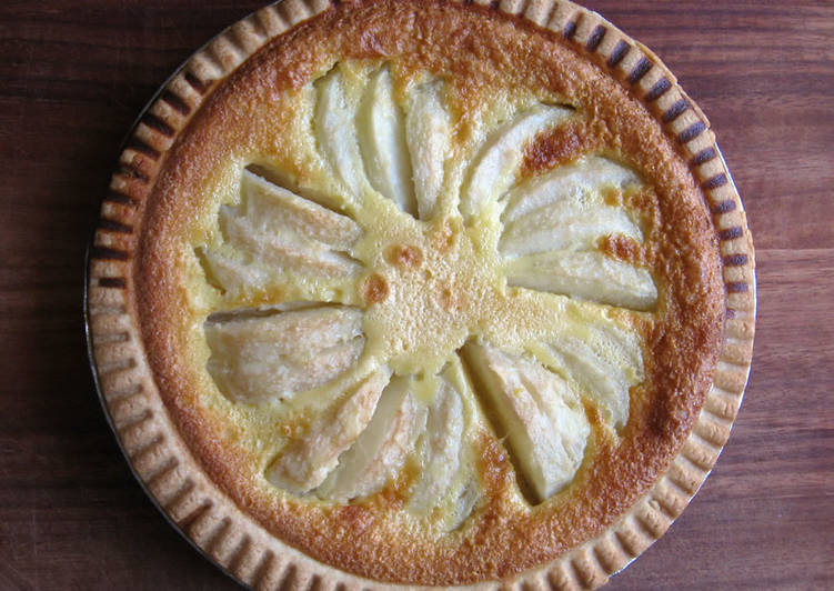 Recipe of Favorite Pear & Custard Tart