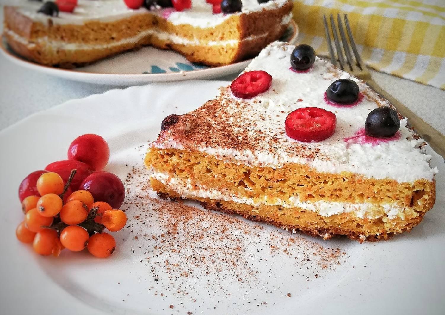 Морковный торт в мультиварке рецепты с фото
