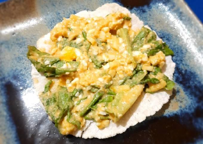 Mayo-less Egg Salad
