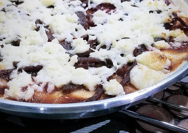 Adonan Pizza Tipis