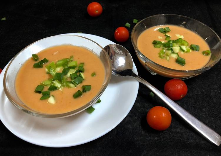 Recipe of Super Quick Homemade Iced Tomato Soup