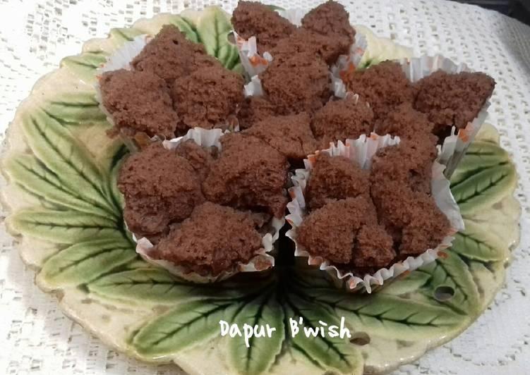 Bolu kukus tepung beras chocolatos - cookandrecipe.com
