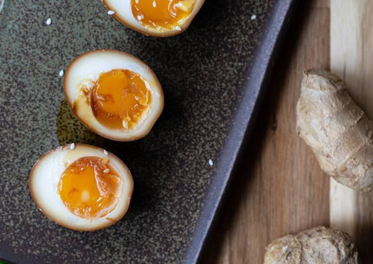 Japanese Marinated Egg - Ajitsuke Tamago Easy Recipe