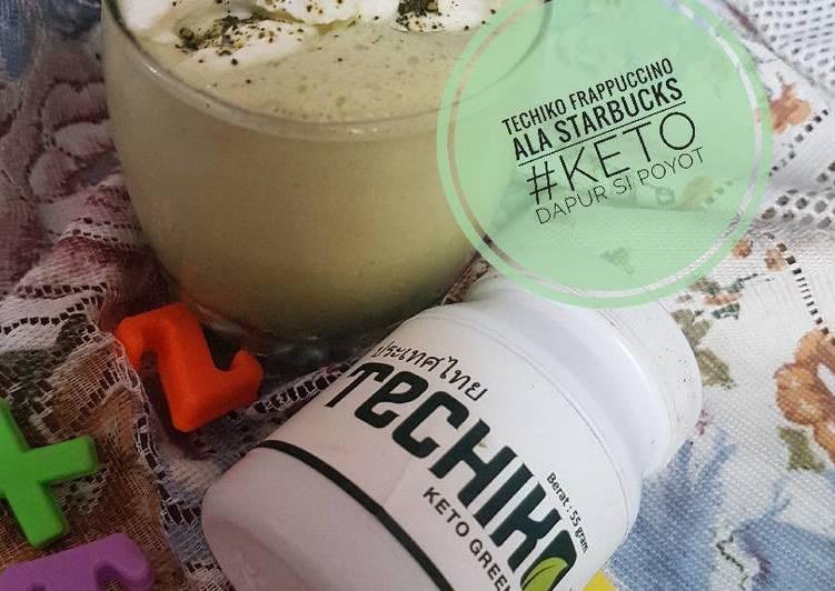Techiko frappuccino ala starbucks #keto
