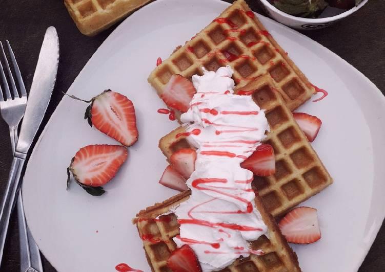 Easiest Way to Prepare Any-night-of-the-week Waffles