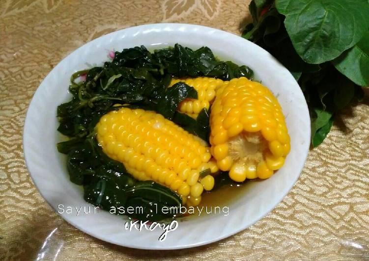 Sayur asem lembayung