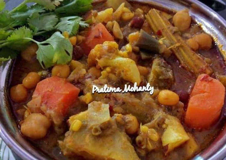 Easiest Way to Make Favorite Mixed Veg Curry