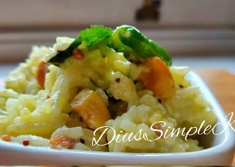 Recipe of Ultimate Curd Rice (Dahi Bhat)