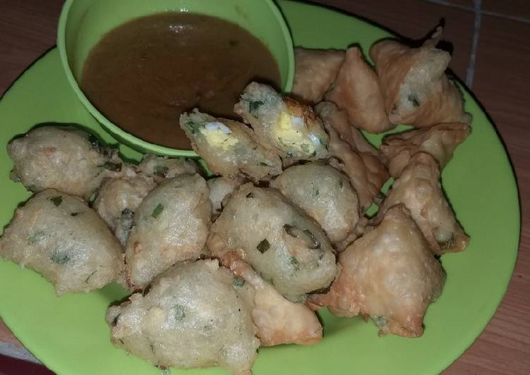 resep cara membuat Batagor Bandung isi puyuh