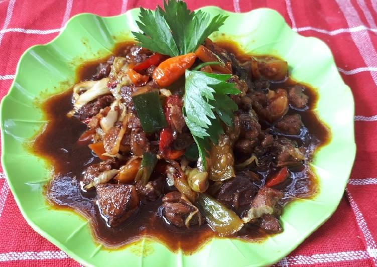 Resep Sate kambing goreng sayuran Paling Enak