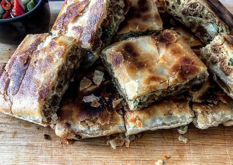 5 Minute Recipe of Refreshing Meatless Martabak Telur