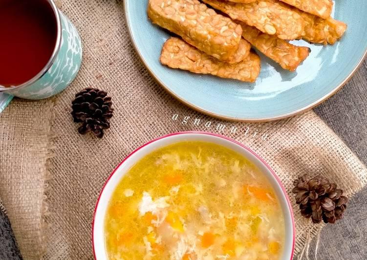 Sup Jagung Ayam