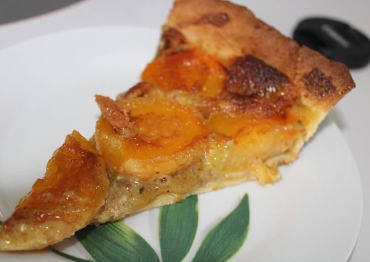 Tarte aux abricots amande pistache