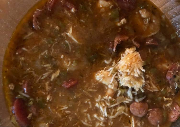 Recipe: Tasty Seafood Gumbo