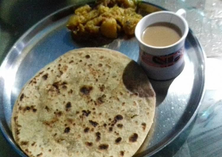 5 Minute Steps to Prepare Super Quick Homemade Sattu paratha