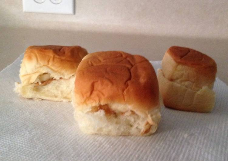 Peanut butter & banana sliders