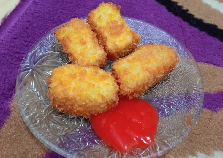 Bagaimana Menyiapkan Nugget ayam wortel Anti Gagal