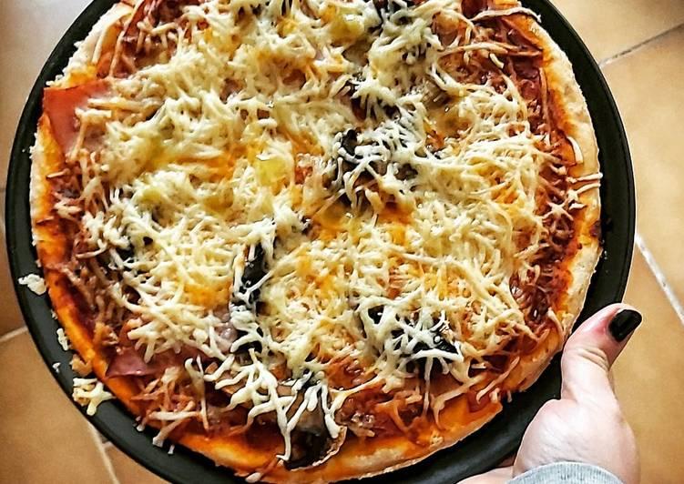 recette Pâte à pizza maison délicieux