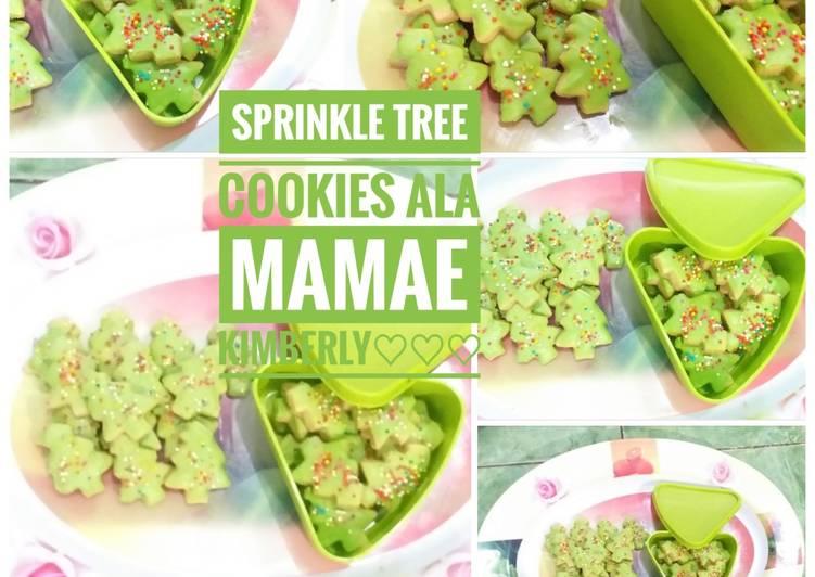 Sprinkle Tree Cookies