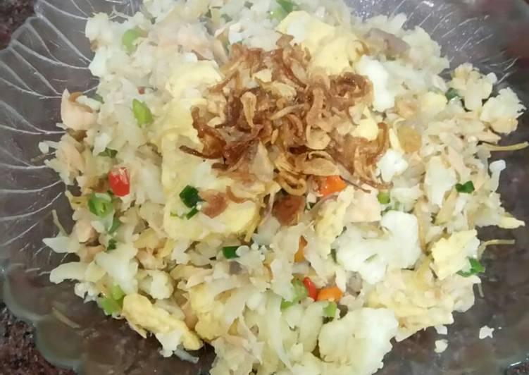 Nasi goreng kw # kembang kol (debm)