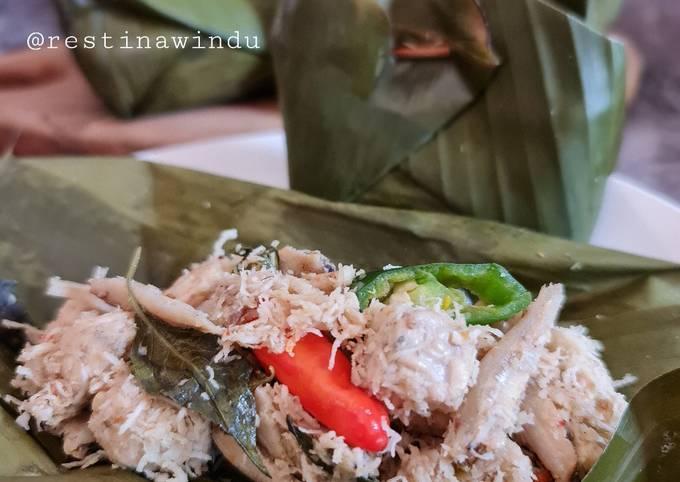 Resep Botok Tempe Ikan Teri yang enak dan Mudah Dibuat
