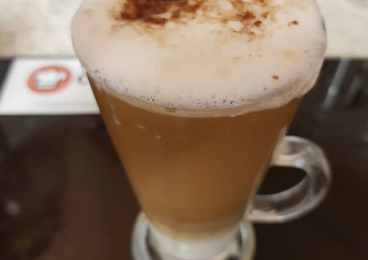 Recipe: Perfect My Americano Frothy Coffee yummy with chocolate sprinkles 😋