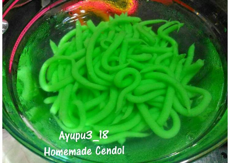 Homemade Cendol