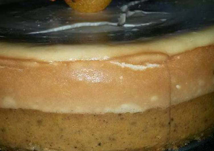 Pumpkin Vanilla Cheesecake