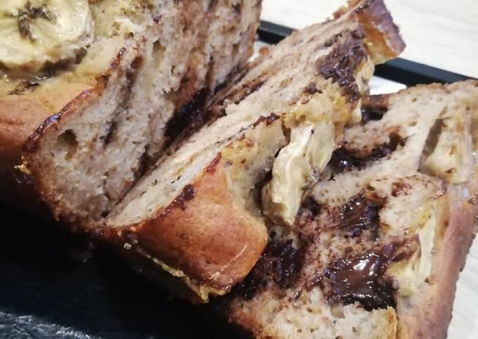 Banana bread healthy et SSA aux dattes 🍌