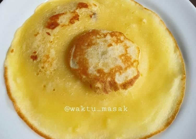 Resep 99 FCL-Anak Kos Telur Ceplok Palsu (Pancake Pisang) Paling Top