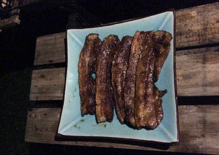 Ventrèche grillées marinade japonaise