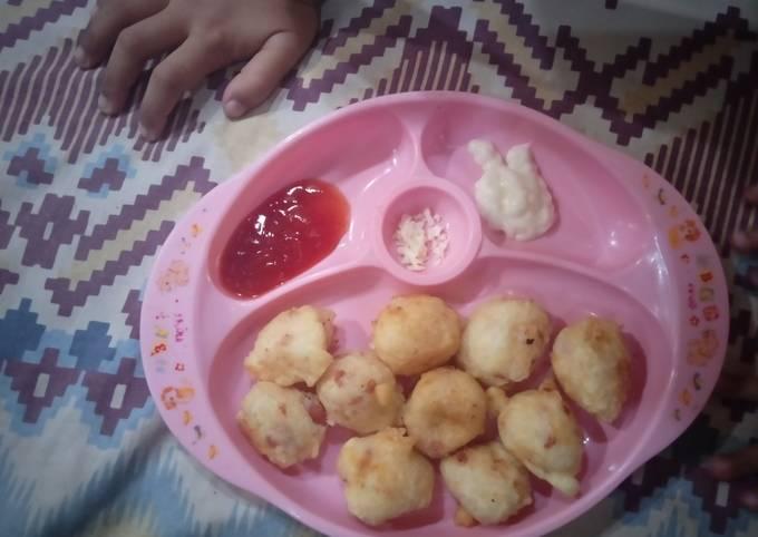 Bekal Kakak : Nugget Nasi / Finger Food / Anti GTM