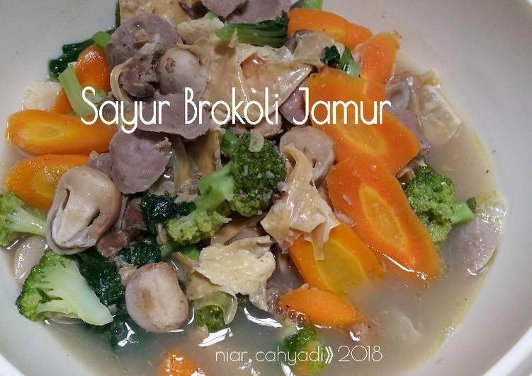 Sayur Brokoli Jamur