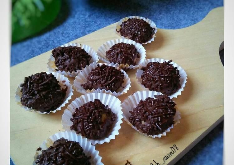 Bola-Bola Cokelat (cookies)