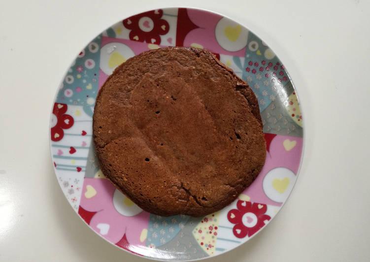 Tortitas de avena, cacao y plátano sin leche (BLW)