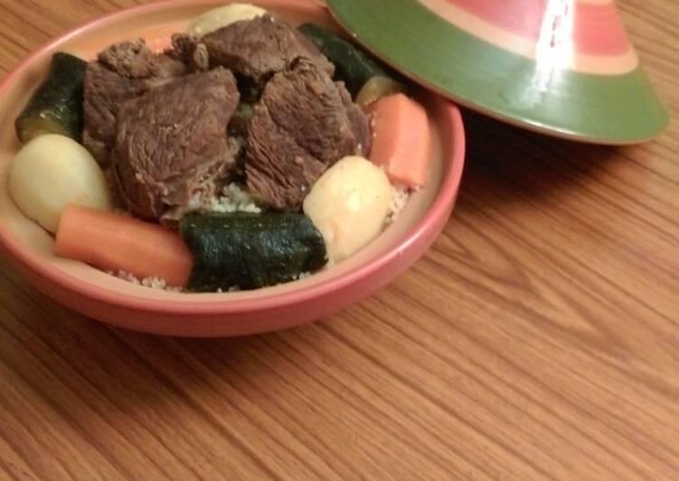 Algerian Traditional Couscous
